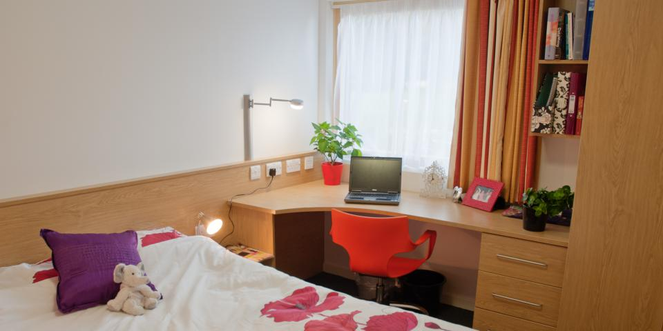 Example of Premium en-suite accommodation at University of Reading