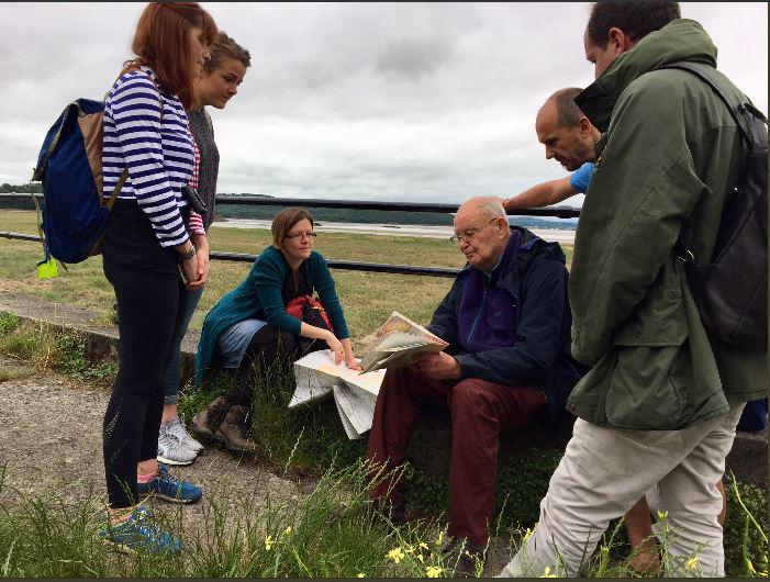 In conversation with Bob the day after ialeUK 2017 Conference in Grange-Over-Sands (Credit: Marc Metzger)
