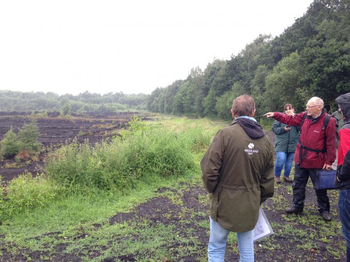 Lindow Moss peat workings (Credit: Editor)