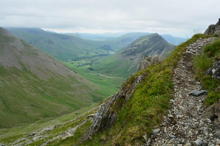 Landscape in the Lake District (creative commons)