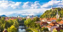 Ljubljana on a sunny day