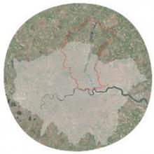 The Lower River Lee within Greater London (Credit: Google)