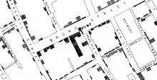 John Snow's famous 1855 cholera study